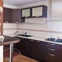 Квартира посуточно Премьер, кухня